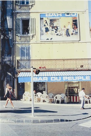 bar du peuple marseille by pierre huyghe
