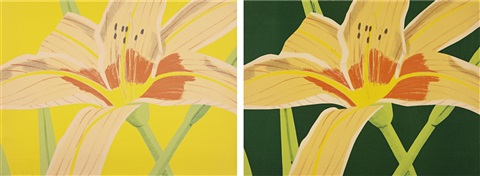 day lily 1 day lily 2 2 works by alex katz