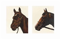 fathers & sons: great nephew & shergar (in 2 parts) by mark wallinger