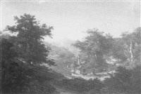 gebirgslandschaft by georg theodore huth