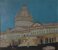 capitol in washington by emerik fejes