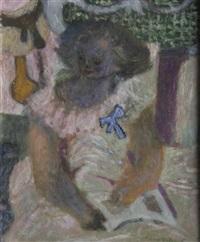 portrait de jeune fille by pierre bollaert