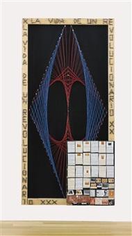 nail & wire (la vida de un revolucionario) by thomas hirschhorn