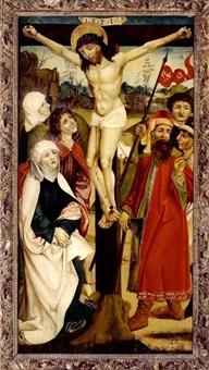 die kreuzigung christi mit assistenzfiguren by austrian school (15)
