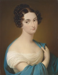 bildnis maria despina nitto (1795-1866) laut familientradition by karl von saar