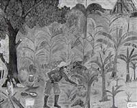 la vie paysanne by télémaque obin