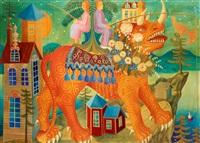 odjuret (första versionen) by mårten andersson