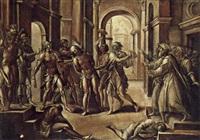 die geißelung christi by lorenzo leonbruno