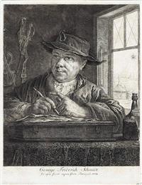 g.f. schmidt (mit der spinne) by georg friedrich schmidt