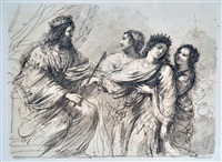figure by guercino