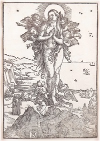 die himmelfahrt der hl. maria magdalena by albrecht dürer
