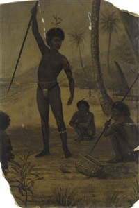 new guinea natives by frank smyth baden-powell