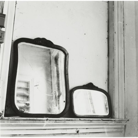 providence rhode island mirrors in pilgrim mills loft by francesca woodman
