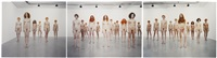 triptych 2 by vanessa beecroft