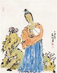 仕女 by liu jia