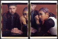 mike and czerina (diptych) by dawoud bey