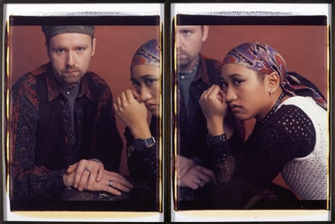 mike and czerina diptych by dawoud bey