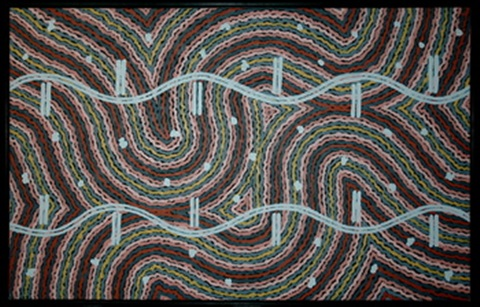 lightening dreaming by clifford possum tjapaltjarri