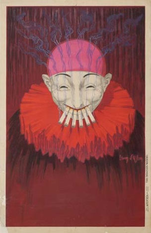 smoking clown by jean d ylen