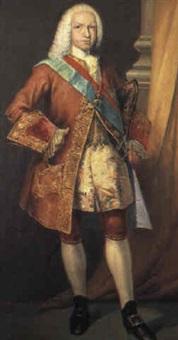 retrato del rey fernando vi by josé maria rodríguez de losada