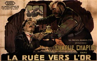 la ruee vers l'or/ the gold rush by posters: movie