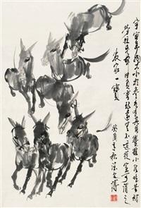 驴 (landscape) by liang wenbo