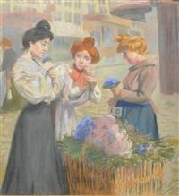 la fleuriste by fernand louis gottlob