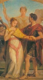 escena clásica by achille louis joseph sirouy