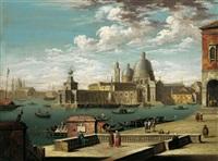 l'ingresso al canal grande a venezia by jacopo fabris