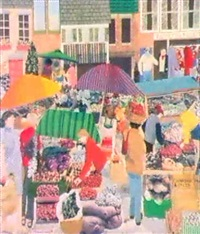 the street market by gloria stacey