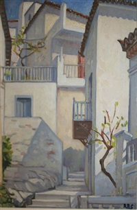 terraced houses, poros by rose brigid ganly