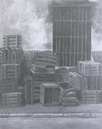 cajas de la plaza de abastos by amalia avia