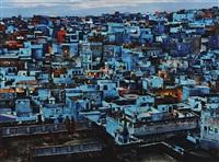 blue city, jodhpur, india by steve mccurry