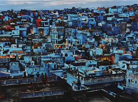 blue city jodhpur india by steve mccurry