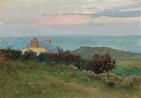 shinnecock landscape by arthur hoeber
