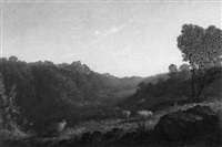 hill scenery by charles rogers