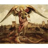l'arcangelo michele, una città sullo sfondo by lazzaro di jacopo bastiani