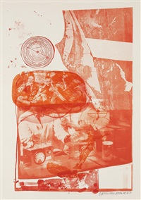 ape (from stoned moon series) by robert rauschenberg