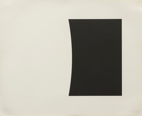 third curve series; germigny by ellsworth kelly