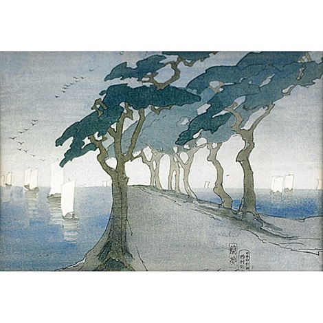 pines by the sea by bertha boynton lum