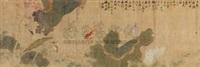 池塘情趣 by xu chunling