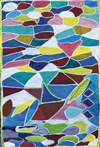colourscape abstract by dinah garadji