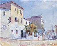 calle de pueblo by josep suñol rodriguez