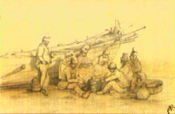 pêcheurs niçois by joseph fricero
