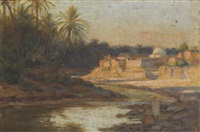 oasis de gabès by charles leon godeby