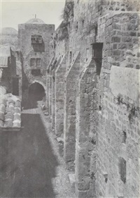 jerusalem- saint sepulcre by auguste salzmann