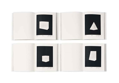 squat, juke, carn, alta (set of 4) by james turrell