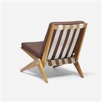 scissor chair by pierre jeanneret