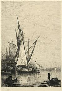 le port de gênes by adolphe appian