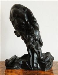 don quijote (hlava) by otto gutfreund